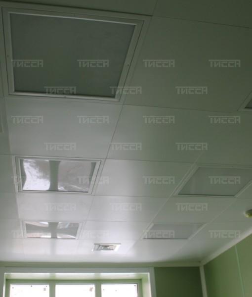 Легкий кассетный потолок